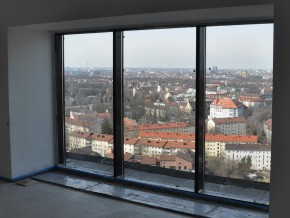 Westin Grand Hotel München, Ausblick VIP-Lounge