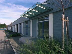 Kläranlage BA II in Starnberg, Betriebsgebäude