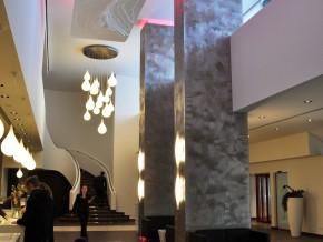 Arabellahaus Blick in die neue Lobby