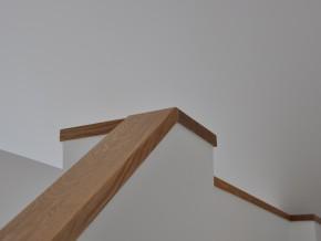 Detail Handlauf der Treppe