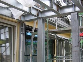 Dachgeschossanbau