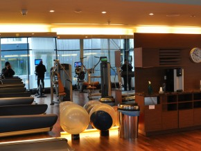 Westin Grand Hotel München, Fitnessraum