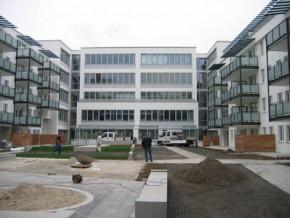 Städt. Berufsschule für Bau- und Kunsthandwerk München, Hauptansicht