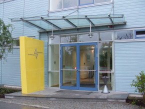 Kläranlage BA II in Starnberg, Haupteingang