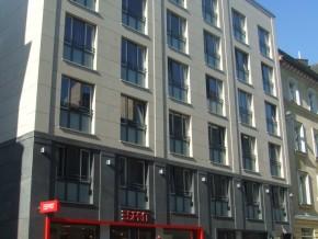 Hohenzollernstraße 9 in München, Hauptfassade nach Sanierung