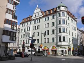 Augustenstraße München, Süd-Ansicht