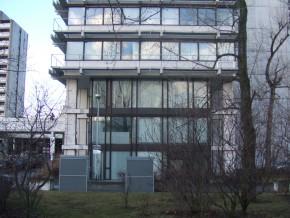 Helene-Mayer-Ring 4 in München, Sockelgeschosse