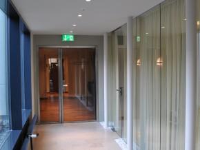Westin Grand Hotel München, Verbindungsgang - Ruheraum