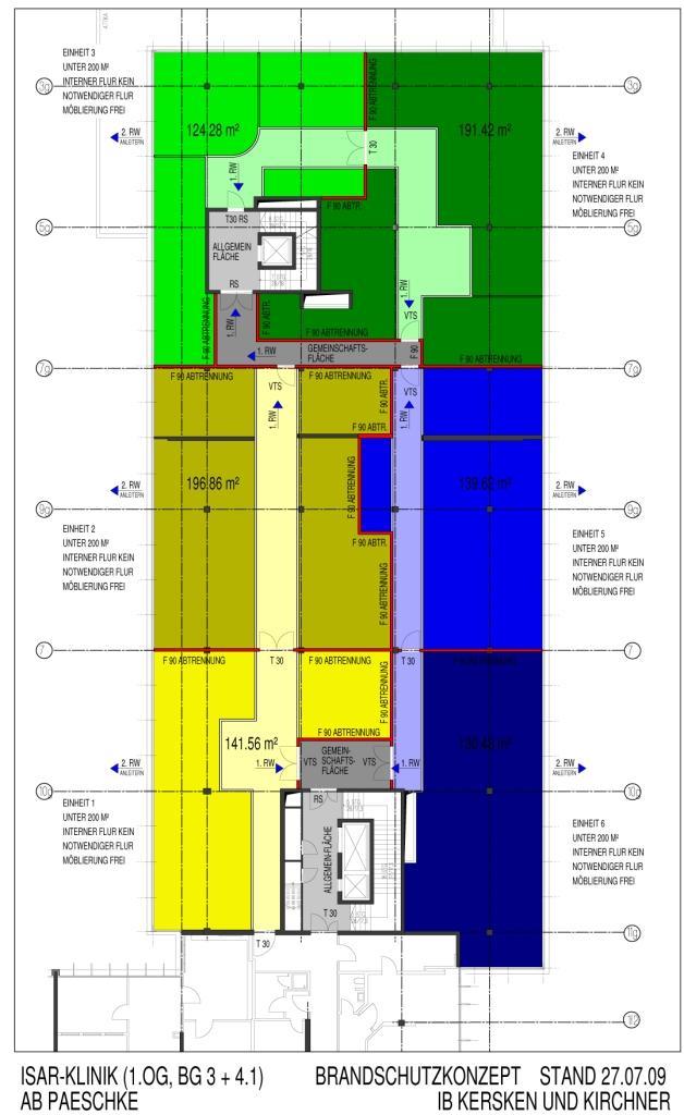 herzogpark klinik in m nchen architekturb ro paeschke. Black Bedroom Furniture Sets. Home Design Ideas
