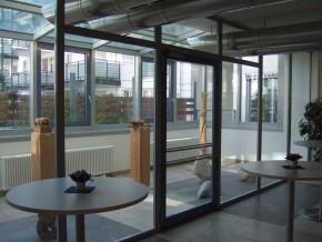 Städt. Berufsschule für Bau- und Kunsthandwerk München, Wintergarten